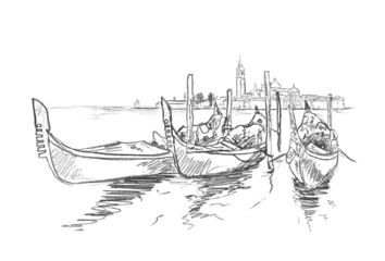 Skizze Venedig