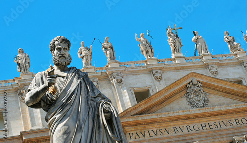 Basilica of Saint Peter in Vatican City, Italy