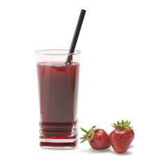 Erdbeersaft-Vitamin Longdrink