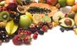 Frische Früchte-Vitamine