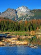 Nove Strbske Pleso, High Tatras in autumn