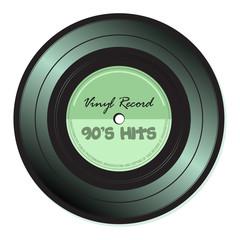 Nineties vinyl record