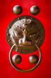 Chinese temple door handle