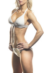 Female Fitness Model Body