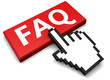 Hand Cursor on FAQ Button