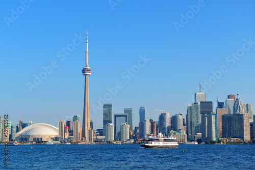 Toronto skyline in the day