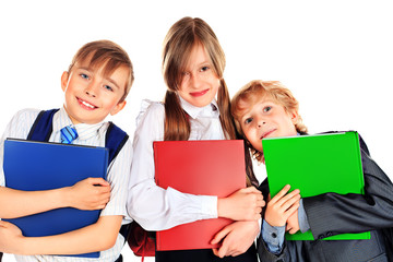 three pupils