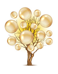 Pearl tree for your design