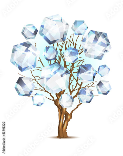 Diamond tree for your design