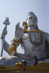 The biggest Shiva monument in the world