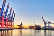 Frachtschiff Container