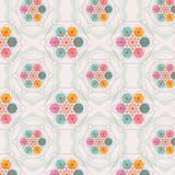 flower of life seamless pattern - 53906731