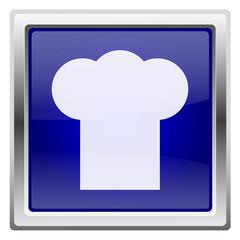 Blue shiny icon