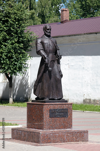 Monument of Lew Sapieha in Lepel, Belarus