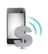 dollar currency management on a mobile phone