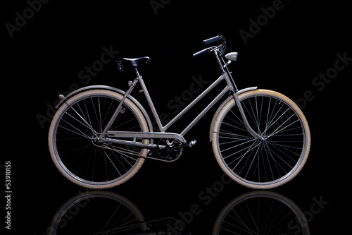 Aluminium Fiets Old refurbished retro bike