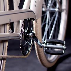 Old refurbished retro bike - Details