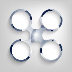 vector circular frame