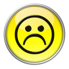 Bottone vetro emoticon 2