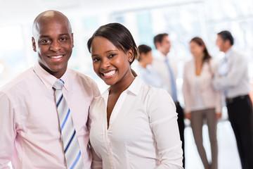 Black business couple