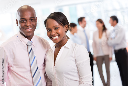 Black business couple