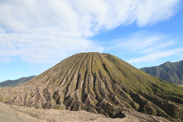Mountain Batok in Tengger Semeru National Park, East Java, Indon