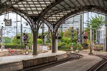 Gare centrale de Cologne - Allemagne, Rhénanie du Nord-Westphalie