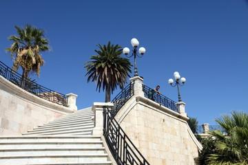 Bastion of saint Remy, Cagliari, Sardinia, Italy