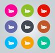 Camcorder - Metro clear circular Icons