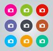 Camera - Metro clear circular Icons