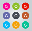 Redo - Metro clear circular Icons