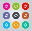 Refresh - Metro clear circular Icons