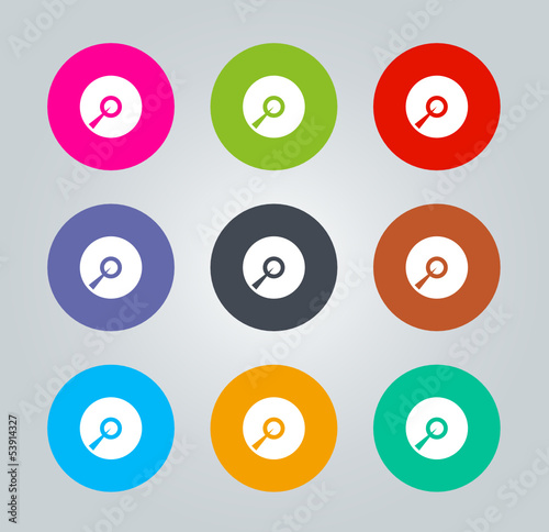 CD - Metro clear circular Icons