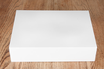 large white box on the table