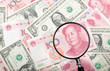 Focus on Chinese yuan against US and Chinese currencies