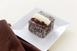 Cream Lamington