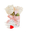 bouquet of roses as a gift with love