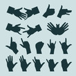 Hands. Vector illustration