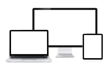 Computer display, laptop and tablet