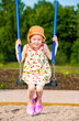 Girl and swing