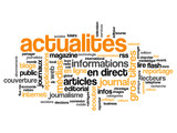 "Nuage de Tags ""ACTUALITES"" (informations médias direct news)"