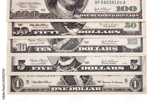 Dollars stair