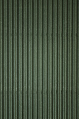 Dark green corrugated cardboard (Texture)