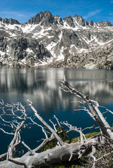The Estany Negre in the National Park of Aiguestortes