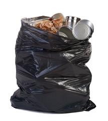 Bag full of garbage