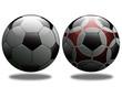 İki futbol topu