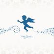 Angel Holding Star Beige/Blue