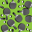 seamless pattern ping pong tennis racket
