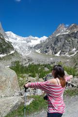 Un abbraccio al Monte Bianco