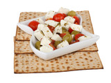 Jewish religious feast Passover traditional food Matzo